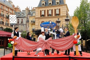 Officiële opening van Ratatouille: The Adventure
