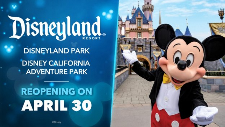 De Magie is terug in het Disneyland Resort! De themaparken plannen hun heropening op 30 april