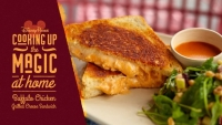 #DisneyMagicMoments: Cooking Up the Magic – Buffalo Chicken Grilled Cheese Sandwich
