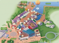 Disney Village Map
