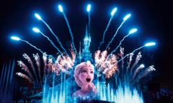 'Disney Illuminations' avondspektakel