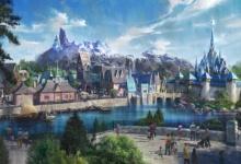 Opening van het Frozen themagebied staat gepland in 2024-2025