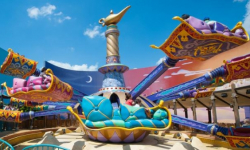 Les Tapis Volants - Flying Carpets Over Agrabah®
