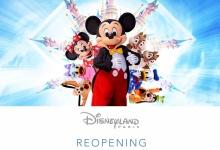 Disneyland Paris gaat terug open op 17 juni 2021