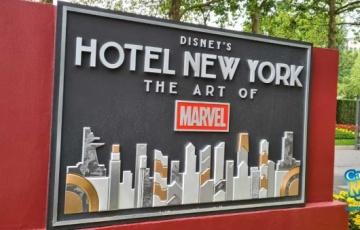 Disney's Hotel New York – The Art of Marvel in Disneyland Paris is nu open