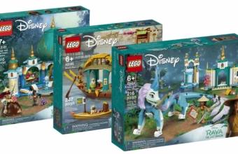 Nieuwe LEGO Disney Raya and the Last Dragon sets