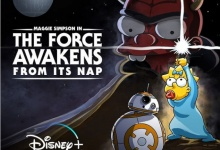 Maggie Simpson in 'The Force Awakens From Its Nap'