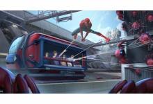 Onride op de nieuwe attractie: Avengers Campus: WEB SLINGERS: A Spider-Man Adventure
