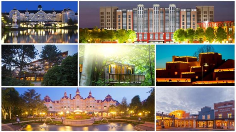 Hotels Disneyland Paris