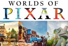 Disneyland Paris brengt Pixar attracties samen in de Worlds of Pixar