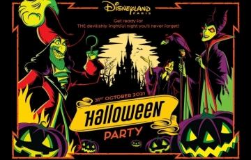 Maak je klaar voor HET Halloweenfeest van het jaar, op 31 oktober van 20.00 tot 02.00 uur in Disneyland Paris!