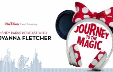 Walt Disney Travel Company kondigt met trots de lancering aan van de gloednieuwe podcast Journey to the Magic met sterren.