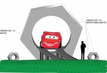 Nieuwe concept-art voor Cars Road Trip