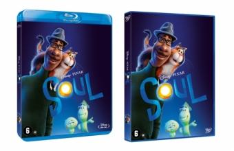 Soul, het meesterwerk van Pete Docter vanaf morgen op Blu-ray™ en DVD.