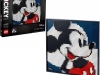 Lego: Art Disney's Mickey Mouse Poster, Wanddecoratie