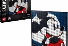 Lego: Art Disney's Mickey Mouse Poster, Wanddecoratie