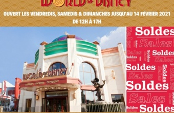 De World of Disney-winkel is geopend van 29 januari tot 14 februari