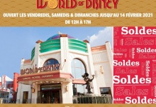 De World of Disney-winkel is geopend van 29 januari tot 14 februari