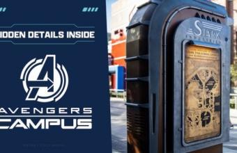 Spoiler alert! Ontdek verborgen details in Avengers Campus in Disney California Adventure Park